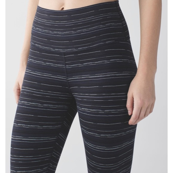 lululemon athletica Pants - 🖤high times cyber stripe